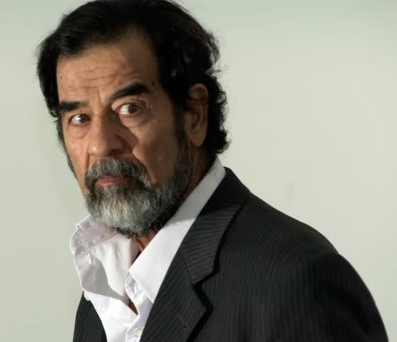 Sadam Husein.-