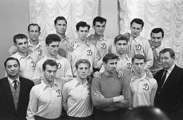 Equipo de primera división del Dinamo de Moscú.