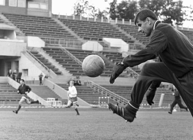 Yashin destacaba por su buena preparación física y mostraba un alto rendimiento incluso a los 40 años.