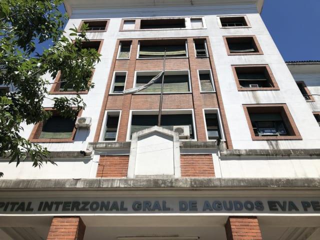 El hospital Eva Perón, de San Martín, provincia de Buenos Aires