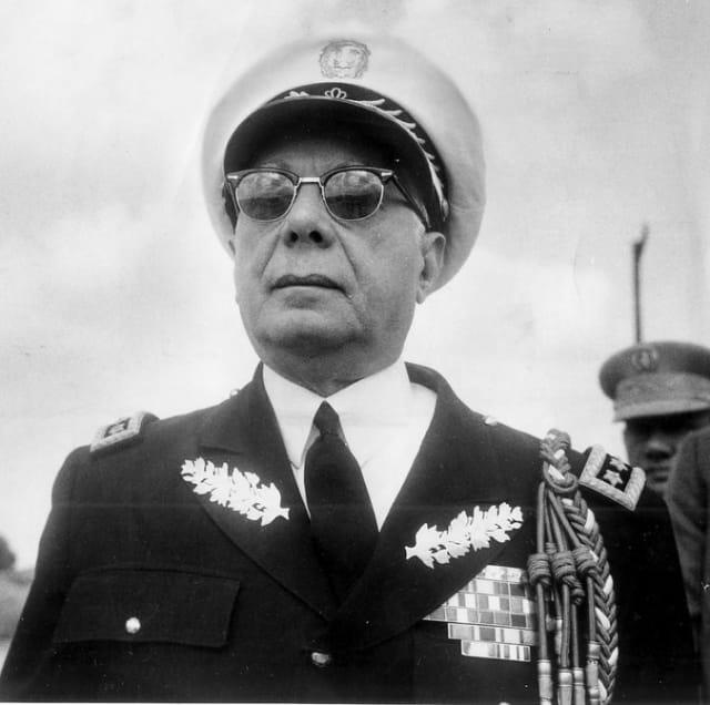Rafael Leónidas Trujillo Molina, 'El Jefe' o 'El Benefactor', dictador de la República Dominicana.-