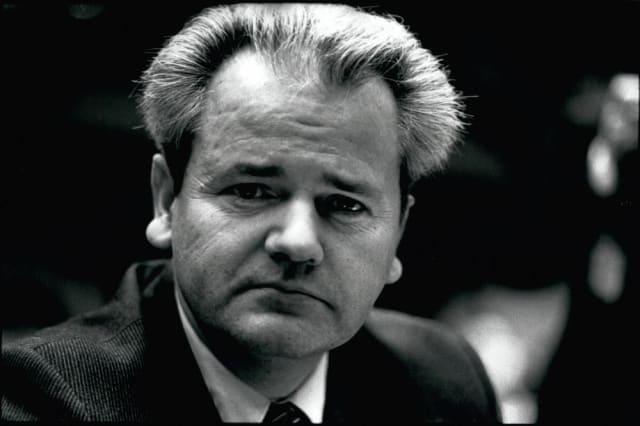 Slobodan Milošević, Presidente de la República Federal de Yugoslavia y de la República de Serbia.-