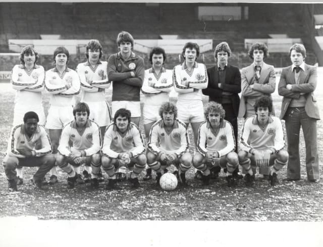MARCH 1979: Leeds United youth team