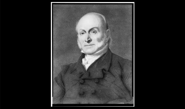 President John Quincy Adams documented his daily life in a series of diary entries, one of which  detailed  his passion for skinny dipping in the Potomac River. He wrote that, on a few different instances, the waves nearly washed away his clothes while he was indulging.