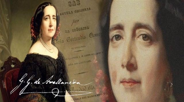 En 2104 más de 105.000 personas exigieron ante la Real Academia de la Lengua Española (RAE) que se acreditara a Gertrudis Gómez de Avellaneda como miembro póstumo de esta organización, misma que la rechazó por ser mujer en 1853.