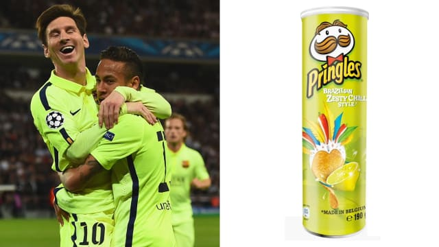 Like Neymar, this flavour remains in the memory long after it's gone.