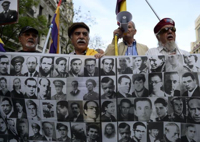 Los retratos de las víctimas del franquismo