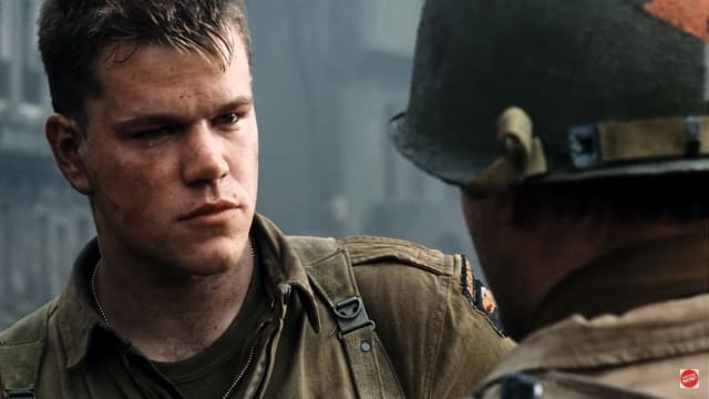 "Steven Spielberg's harrowing depiction of the Omaha Beach invasion in ""Saving Private Ryan"" is perhaps one of the most striking and realistic depictions of warfare ever put to screen. The story follows a group of American soldiers led by Captain Miller (Tom Hanks) ordered to find a lone paratrooper (Matt Damon) who's three brothers were killed in action, warranting him a ticket home. From the opening beach landing to the grueling final battle, this film will leave you amazed, terrified, heartbroken, and most-importantly — grateful."
