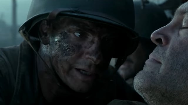 Another true story: Mel Gibson's Hacksaw Ridge follows Pvt. Desmond Doss, a combat medic in the United States Army. As a conscientious objector, Doss refused to carry a firearm into combat, as his religious beliefs prohibited violence in any form. The film follows Doss's initial conflict with his fellow soldiers, their eventual acceptance of him, and their shared ordeals during the Battle of Okinawa, during which Doss's actions warranted him a Congressional Medal of Honor. A tear-jerker to say the least, this film holds nothing back in its hellish depiction of front-line combat during the war in the Pacific.
