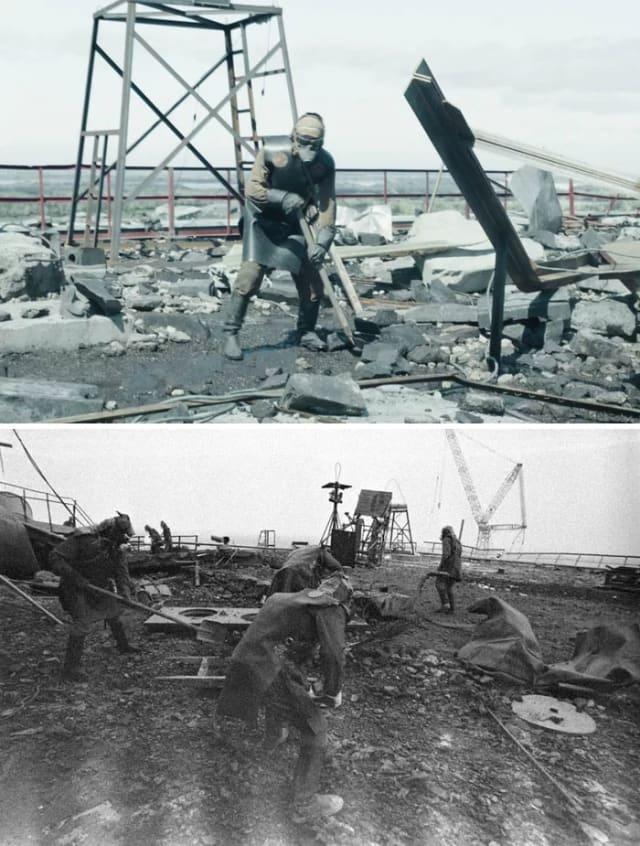 Likvidatori u Černobilu bili su civilno i vojno osoblje koje je pozvano da se bave posljedicama katastrofe na licu mjesta. Likvidatorima se općenito pripisuje ograničavanje neposredne i dugoročne štete od katastrofe.Preživjeli likvidatori kvalificirani su za značajne socijalne beneficije zbog svog veteranskog statusa. Sovjetsku vladu i medije mnogi su likvidatori hvalili kao heroje, dok su se neki godinama borili da se njihovo sudjelovanje službeno prizna.