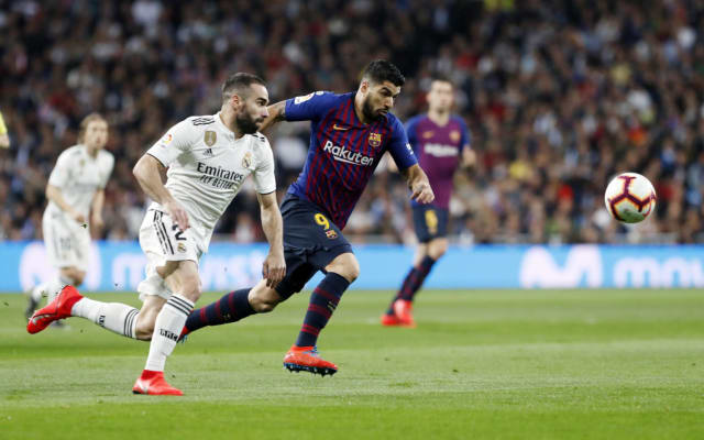Two of the most anticipated dates on the La Liga schedule are the clashes between Barça and Real Madrid. This season's Clásicos come on the same matchdays as last season:10/27/2019 - Matchday 10FC Barcelona vs Real Madrid (Camp Nou)3/1/2020 - Matchday 26Real Madrid vs FC Barcelona (Santiago Bernabéu)