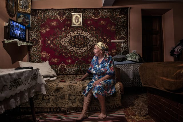 Valentina Artin solía vivir en Dobrusa, pero se mudó en 2012.