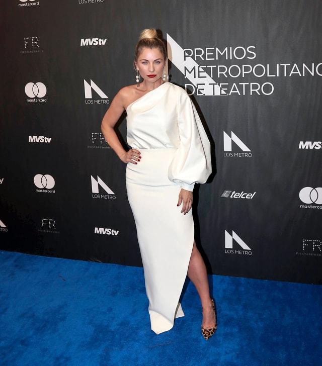 La actriz formó parte del jurado de la premiación de este año.