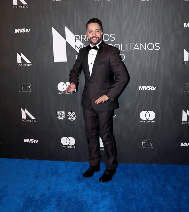 El influencer fue uno de los productores de esta edición de los galardones.