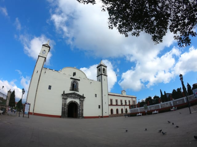 El ex-convento de Zacatlán es un templo más antiguo que la catedral de México y la catedral de Puebla.De hecho, es uno de los primeros templos construido en el continente Americano.