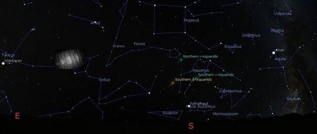 Un equipo de astrónomos y físicos húngaros confirmaron la existencia de dos nubes de polvo que se extienden de forma semiestable a solo 400.000 kilómetros de la Tierra, según un estadio publicado en enero en la revista Monthly Notices of the Royal Astronomical Society. El sistema Tierra-Luna tiene cinco puntos de estabilidad donde las fuerzas gravitacionales mantienen la posición relativa de los objetos ubicados allí. Dos de estos llamados puntos de Lagrange, L4 y L5, forman un triángulo de lados iguales con la Tierra y la Luna, y se mueven alrededor de la Tierra a medida que la Luna se mueve a lo largo de su órbita.Se piensa que son lugares donde el polvo interplanetario podría acumularse, al menos temporalmente.