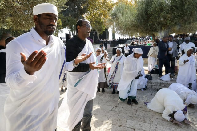 Sigd holiday brings thousands to Jerusalem to celebrate 1