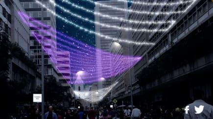 """Toda la carrera séptima estará iluminada esta navidad para que planees en familia el tradicional """"septimazo"""" acompañados de decoración, navidad y mucha iluminación, además el recorrido te llevara a los otros lugares de la ruta navideña que estarán en Bogotá."""