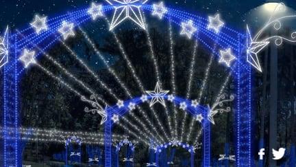 Después de un recorrido por la séptima, llegaras al Parque de la Independencia , ubicado al lado de la torre Colpatria. Con un camino lleno de estrellas azules y blancas que te llevaran a un recorrido por el parque, además, al lado encuentras el Planetario de Bogotá que celebrará a lo grande sus 50 años con muchas actividades en esta temporada.