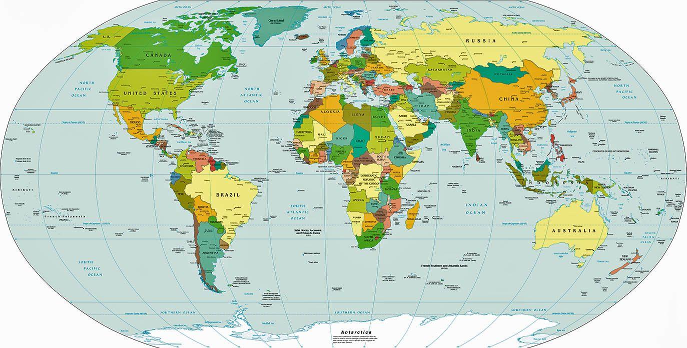 Strambotic  Este es el mapamundi ms preciso hasta el momento y