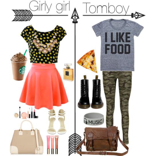 girly girls vs tomboys