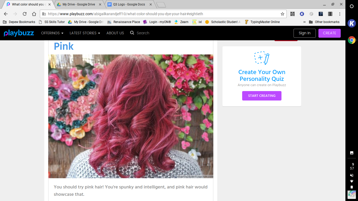 What Color Should You Dye Your Hair Playbuzz